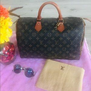 🍮Vintage Louis Vuitton Speedy 35 Monogram 🍯